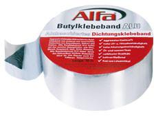 alfa butylband alu alukaschiertes butyl klebeband zum. Black Bedroom Furniture Sets. Home Design Ideas